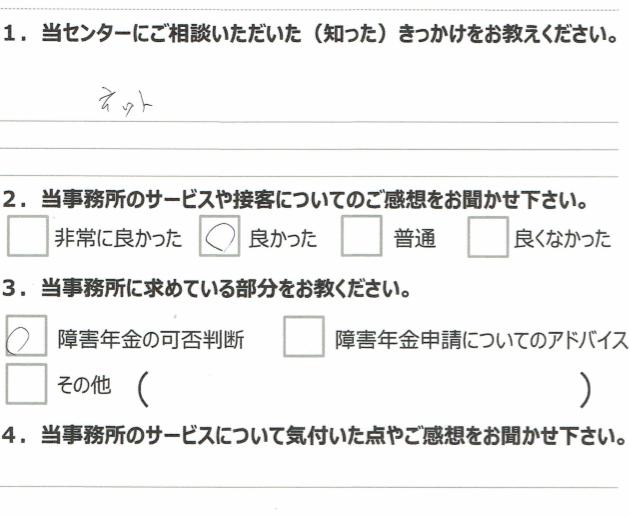 1年7月 大腸がん (60代男性)倉島肇