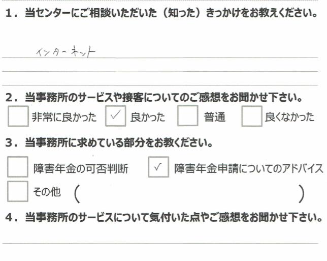 1年7月 広汎性発達障害 (30代女性)中間あゆ美